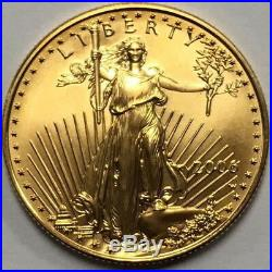2006 W United States $25 BURNISHED American Gold Eagle Uncirculated Coin! 6010f