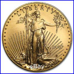 2007 1 oz Gold American Eagle BU SKU #21529