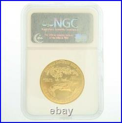 2007 1 oz NGC MS 70 Gold American Eagle Coin Early Release