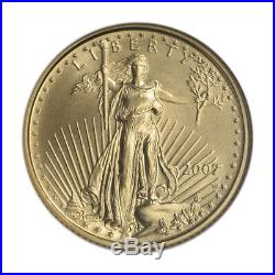 2007-W American Gold Eagle Burnished 1/10 oz $5 NGC MS69 Early Releases