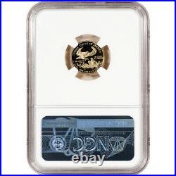2007-W American Gold Eagle Proof 1/10 oz $5 NGC PF70 UCAM