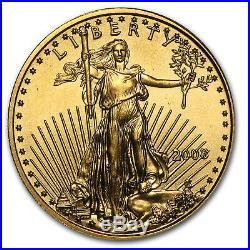 2008 1/10 oz Gold American Eagle BU SKU #30110