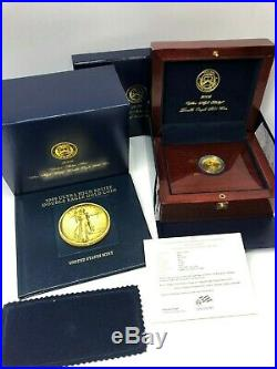 2009 US Gold $20 Ultra High Relief Double Eagle With Display Materials FREE SHIP
