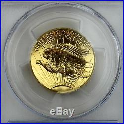 2009-W Ultra High Relief Double Eagle 1 oz Pure Gold Coin PCGS Secure Plus MS69