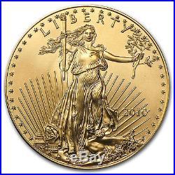 2010 1 oz Gold American Eagle BU SKU #57011