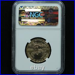 2012 1/2 Oz Gold Eagle NGC MS70 Certified $25 Early Releases