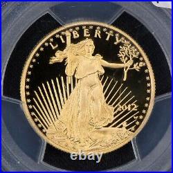 2012-w G$25 1/2 Oz American Eagle Gold Coin, Diehl Label Pcgs Pr69 Dcam #v979