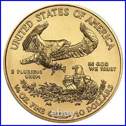 2013 $10 American Gold Eagle 1/4 oz Brilliant Uncirculated