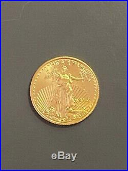 2013 1/10 oz Gold American Eagle Brilliant Uncirculated