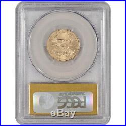 2014 American Gold Eagle (1/4 oz) $10 PCGS MS70 First Strike Gold Foil La