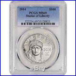 2014 American Platinum Eagle (1 oz) $100 PCGS MS69
