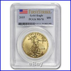 2015 1 oz Gold American Eagle MS-70 PCGS (FS) SKU #86099