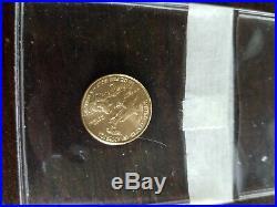 2016 1/10 oz Gold American Eagle Coin Brilliant Uncirculated