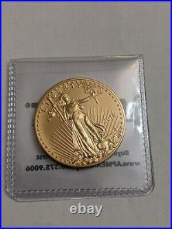 2016 American Eagle 1 Oz. Fine Gold $50 Dollar Coin