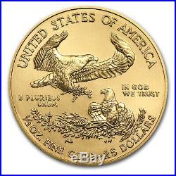 2017 1/2 oz Gold American Eagle BU SKU #102270