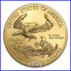 2017 1 oz Gold American Eagle BU