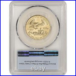 2017 American Gold Eagle (1/2 oz) $25 PCGS MS70 First Strike
