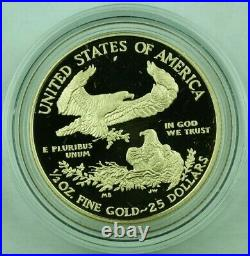 2017 American Gold Proof Eagle 4 Coin Proof Set With Box & COA
