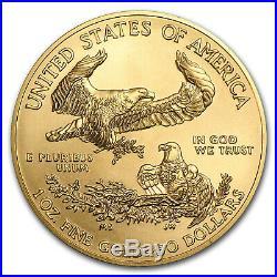 2018 1 oz Gold American Eagle BU