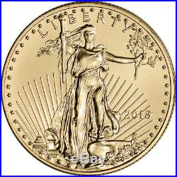2018 American Gold Eagle 1/2 oz $25 PCGS MS70