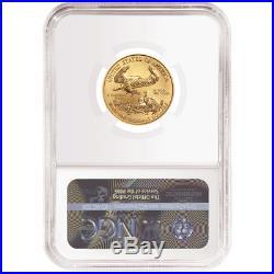 2019 $10 American Gold Eagle 1/4 oz. NGC MS69 FDI ALS Label
