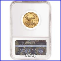 2019 $10 American Gold Eagle 1/4 oz. NGC MS70 ALS ER Label