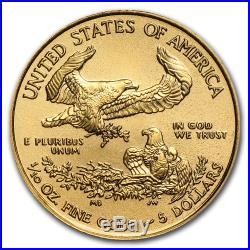 2019 1/10 oz Gold American Eagle BU (withAPMEX Gift Box) SKU#185240