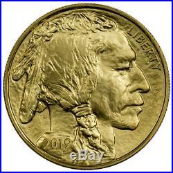 2019 1 oz Gold Buffalo $50 Coin GEM BU SKU55928