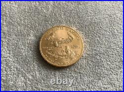 2019 1oz American Eagle Gold Coin, Liberty USA 50 Dollars 22ct 33.93g. UK Post
