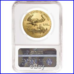 2019 $50 American Gold Eagle 1 oz. NGC MS70 Brown Label