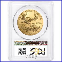 2019 $50 American Gold Eagle 1 oz. PCGS MS70 Blue Label