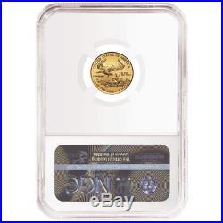 2019 $5 American Gold Eagle 1/10 oz. NGC MS70 Black ER Label