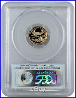 2019 W 1/10 oz Gold American Eagle Proof $5 PCGS PR70 FS Flag Label SKU56160