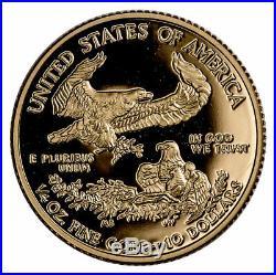 2019 W 1/4 oz Gold American Eagle Proof $10 GEM Proof Coin OGP SKU56161