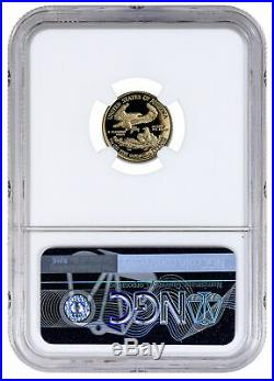 2020W 1/10 oz Gold American Eagle $5 Proof NGC PF70 UC ER Eagle SKU60822