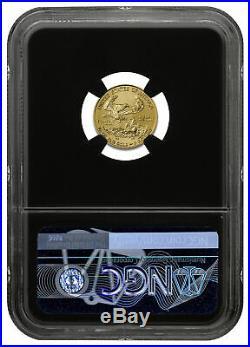 2020 1/10 oz Gold American Eagle $5 NGC MS70 FR Black Gold Foil PRESALE SKU59548