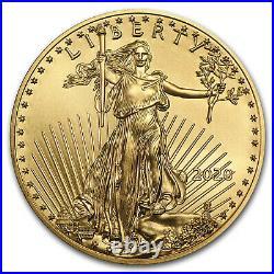 2020 1/10 oz Gold American Eagle (MintDirect Single) SKU#196128
