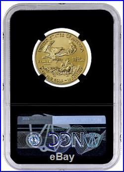 2020 1/2 oz Gold American Eagle $25 NGC MS70 FDI Blk Gold Foil PRESALE SKU59575