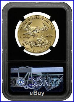 2020 1 oz Gold American Eagle $50 NGC MS70 FR Black Gold Foil SKU59585
