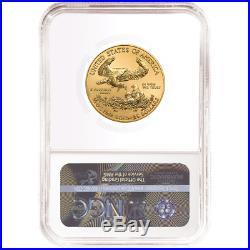 2020 $25 American Gold Eagle 1/2 oz. NGC MS70 Trump Label