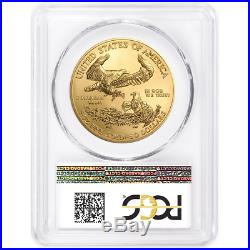 2020 $50 American Gold Eagle 1 oz. PCGS MS70 FDOI Flag Label