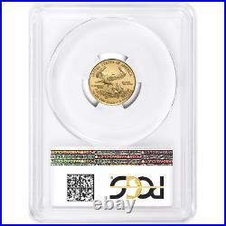 2020 $5 American Gold Eagle 1/10 oz. PCGS MS70 Blue Label