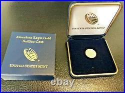 2020 American Gold Eagle 1/10 oz $5 BU