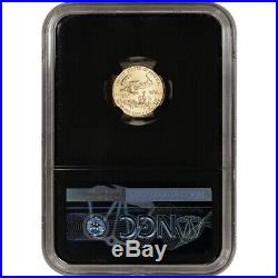 2020 American Gold Eagle 1/10 oz $5 NGC MS70 First Day of Issue 1st Black