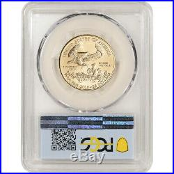 2020 American Gold Eagle 1/2 oz $25 PCGS MS70 First Day of Issue