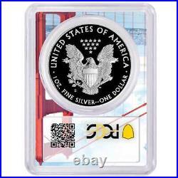 2020-S Proof $1 American Silver Eagle PCGS PR70DCAM Golden Gate Frame