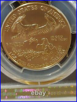 2020 United State Mint 1 Oz Burnished Gold SP 69 Very Rare Only 7000