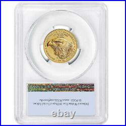 2021 $10 Type 2 American Gold Eagle 1/4 oz. PCGS MS70 FS Flag Label