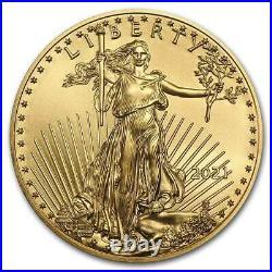 2021 1 oz American Gold Eagle (20-Coin MintDirect Tube) SKU#218764