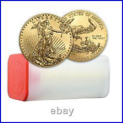 2021 1 oz American Gold Eagle BU (Tube of 20)